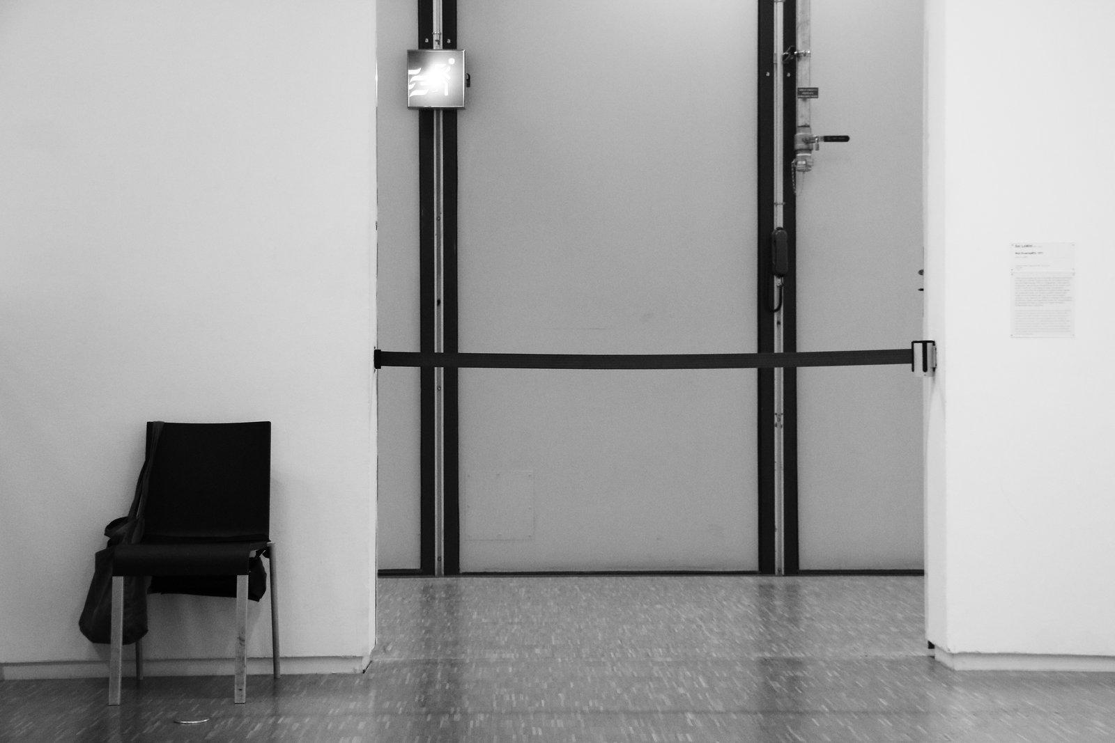 Waiting for a Hostess in Centre Pompidou Paris