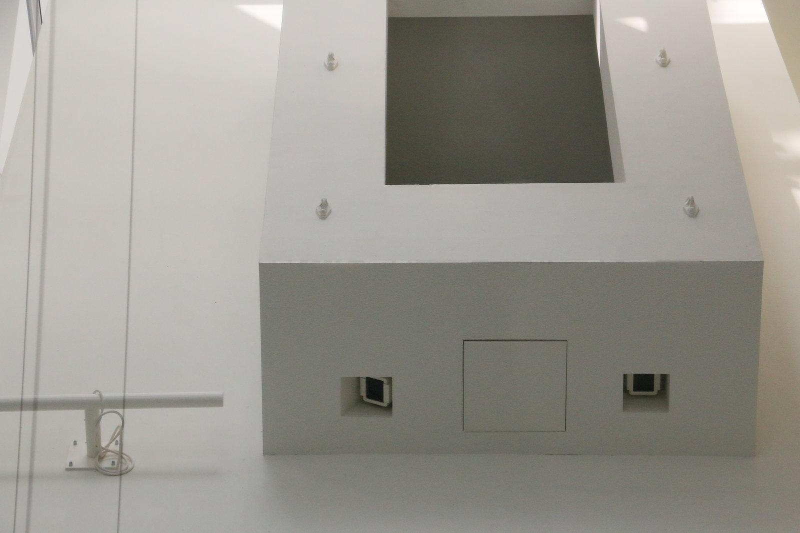 Cameras in Louis Vuitton Foundation Paris