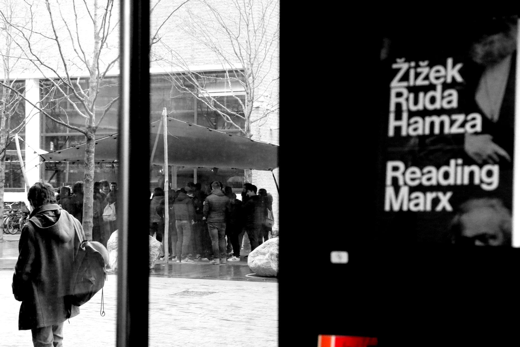 Philosophy between Stedelijk and Van Gogh Museum in Amsterdam