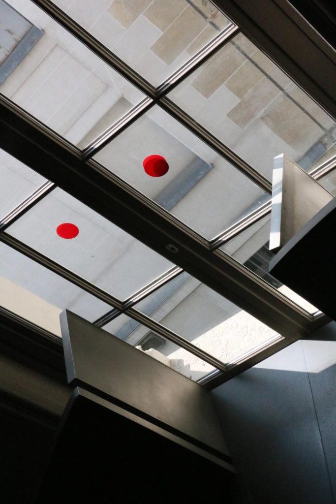 Personnel Entry in Musee Cernuschi in Paris