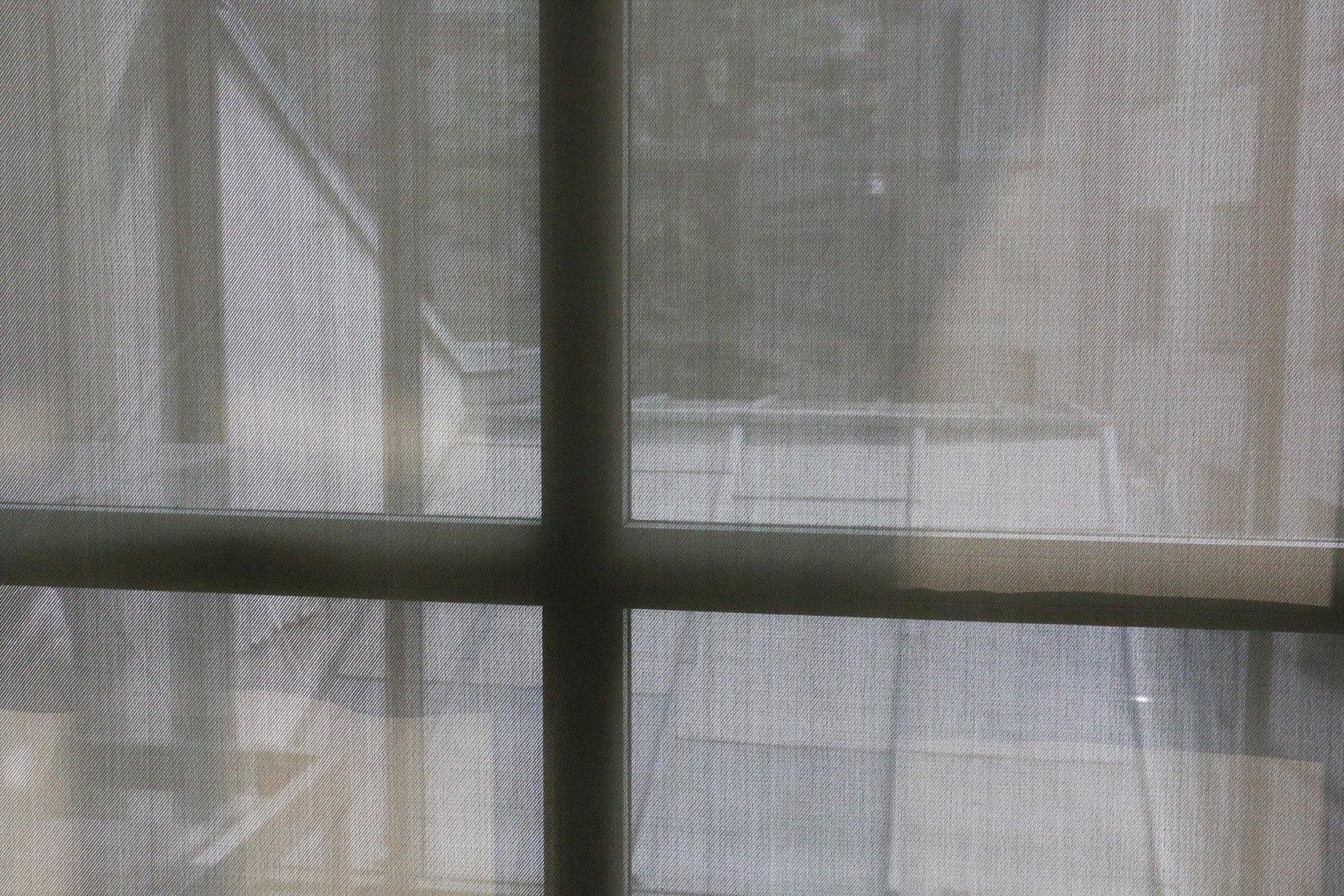 Curtains in Musee Cernuschi in Paris