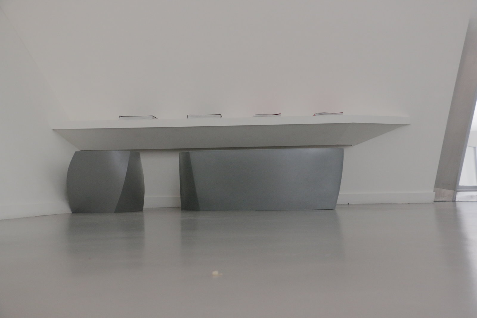 A Bench in Louis Vuitton Foundation Paris