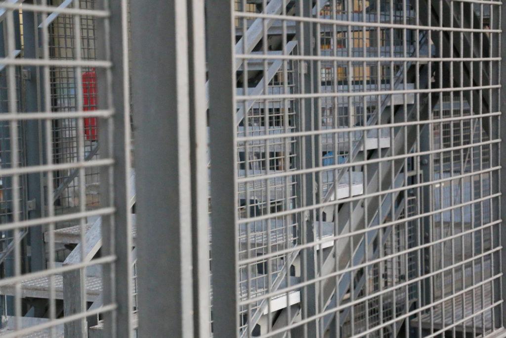 Wire Netting in Centre Pompidou Paris