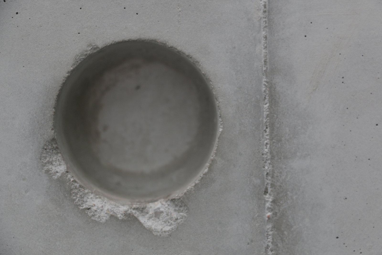Hole in a Wall In Orangerie Museum in Paris